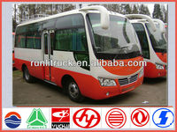 China brand new 6.6m 25 seater tourist bus for sale malaysia