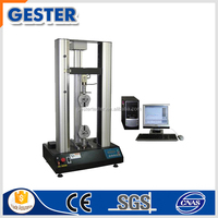 Physics laboratory material tensile testing system