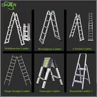 China Factory Folding Step Ladder With