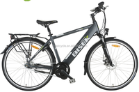 The newest electric bike 28inch 700CC Mid motor hidden battery 36V 250W /350W bafang motor