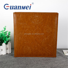 Professional self-adhesive photo album / pu leather cover photo album / western style family photo albums