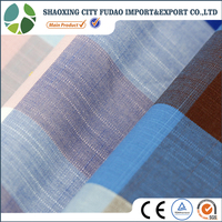 Yarn dyed combed cotton fabric twill fabric for casual shirting