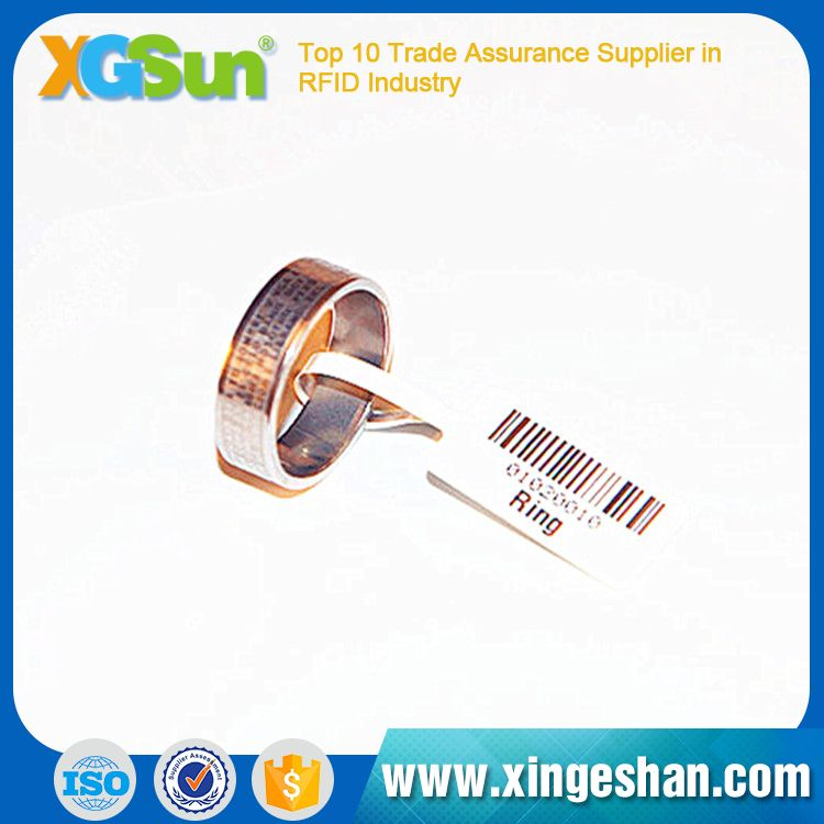 860-960MHZ Custom Engraved Anti-theft jewellery rfid tag