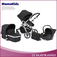3 in 1 baby electric pram with EN1888 approved