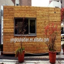 Manufacture supplier the latest design prefab wooden shelter cabin log container simple house