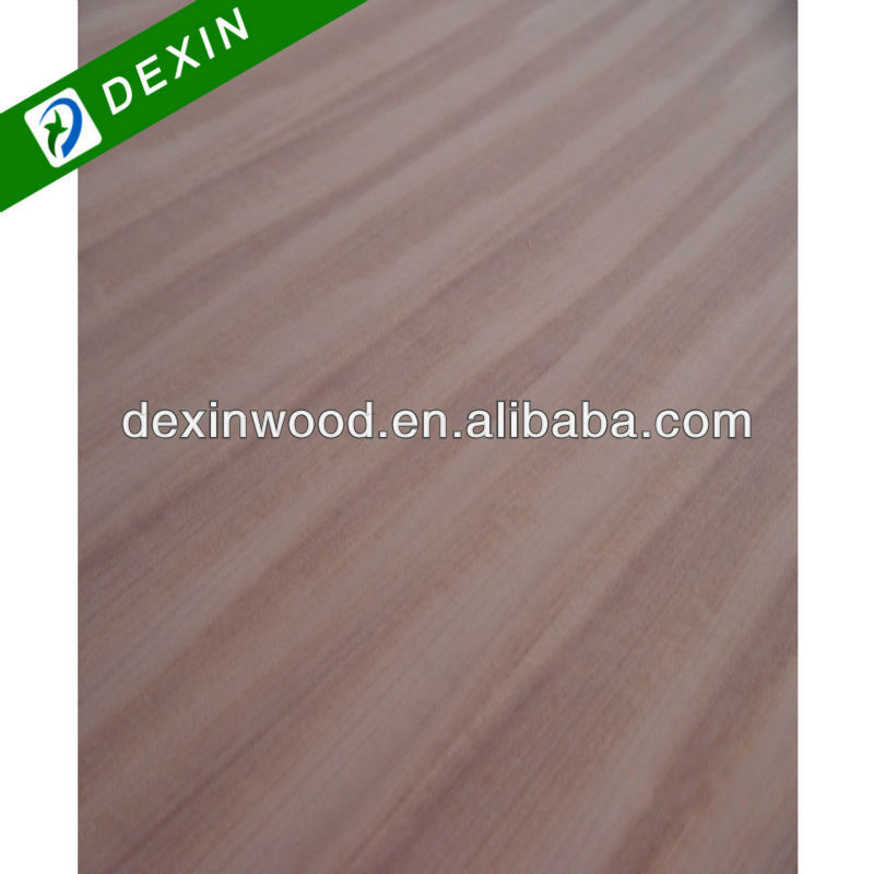 Straight Line or Corwn Flower Grain 4.5mm Sapele Plywood