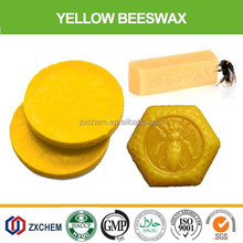 100% Nature refined white cosmetic organic pellets beeswax