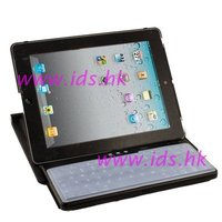 Bluetooth Keyboard Leather Case Stand For iPad2
