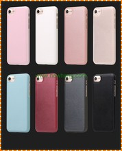 New arrival ultra slim tpu pu leather back cover case for iphone 7