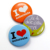 Fashion custom round plastic pin button badge