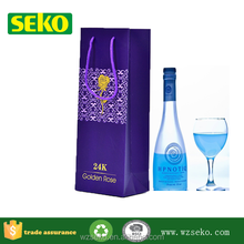 Top-selling customized luxuy paper wine gift bag