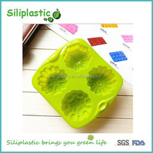 4 four compartment moon cake rice cake mould silicone