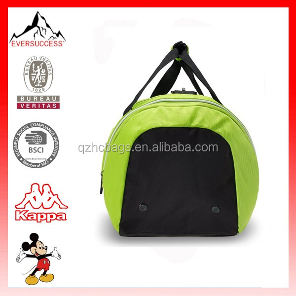 Top Quality New Fashion Gym Bag Shoe Compartment Women Gym Duffel Bags (ESV130)