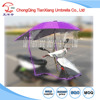 2016 hot selling windproof waterproof motorcycle umbrella special umbrella scooter umbrella