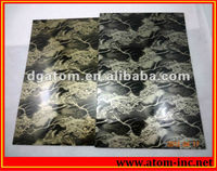 Clear PVC sole pyrex baking abdominal sheet from Atom for shoes Material Limited