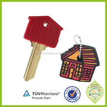 custom shaped silicone rubber house key covers