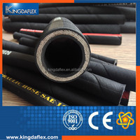 Oil Resistant Impulse Mutiple Steel Wire Spiral Reinforced Rubber Hose SAE100 R12