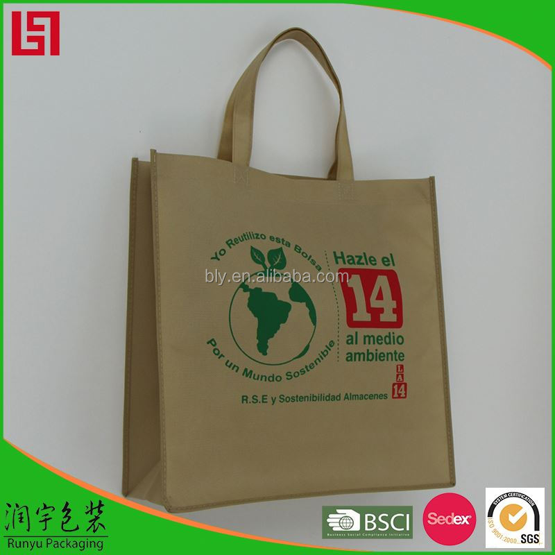 High quality manufacturers foldable polyester shopping bag