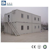 Sandwich Panel Steel Structure Pre-made Container House
