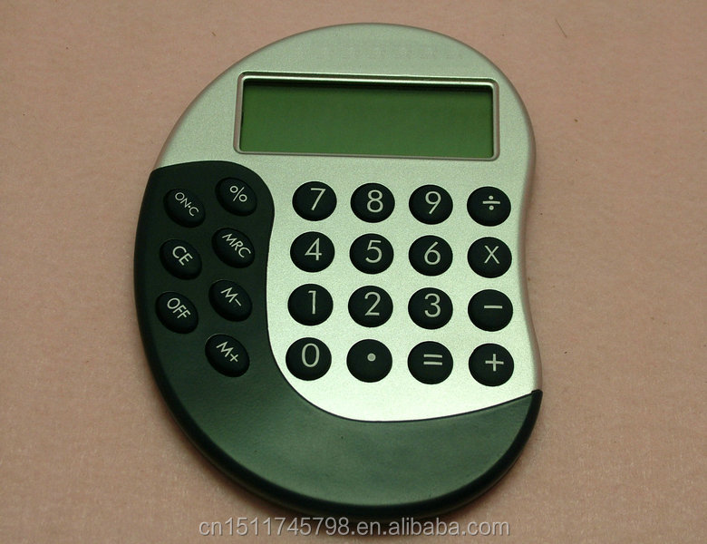 unique design business gift,student use 8 digit mini calculator