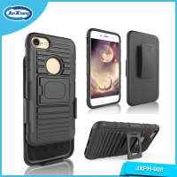 A Class Quality Innovative Ring Kickstand Design TPU PC Mobile Phone Case for iPhone 7