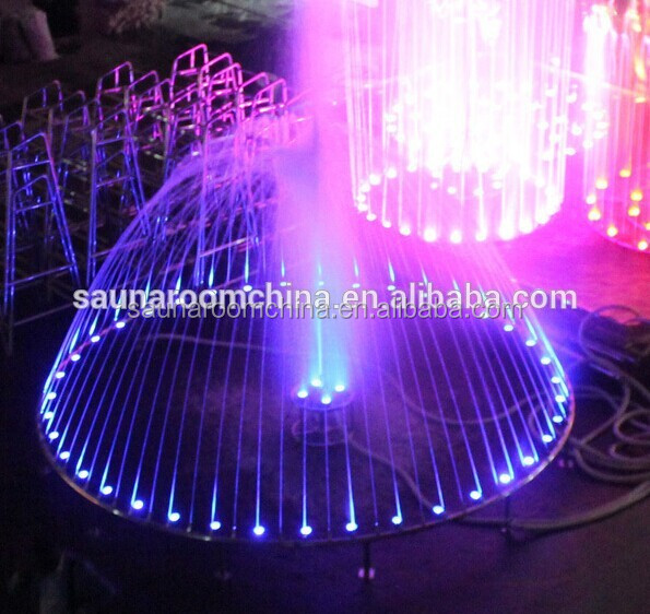 Garden fountains, small bubble decorative water features for hotel or villa