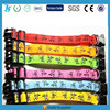 Logo Printed colorful LED Pet Collar for dog and cats