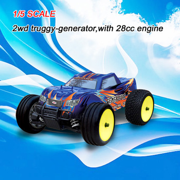 gt-053251 1/5 scale 2wd truggy-generator,with 28cc engine