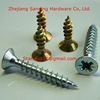 Wholesales Flat Head Harden Zinc Plated