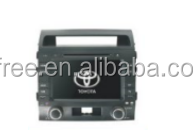 FOR toyota land cruiser android car dvd players with GPS auto 2 double din radio audio central multimedia stereo