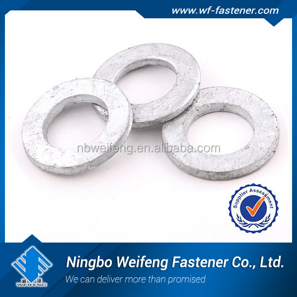 Top quality flat Washer DIN125A/DIN9021 SH069 miniature thrust bearing flat washers Galvanized flat washer
