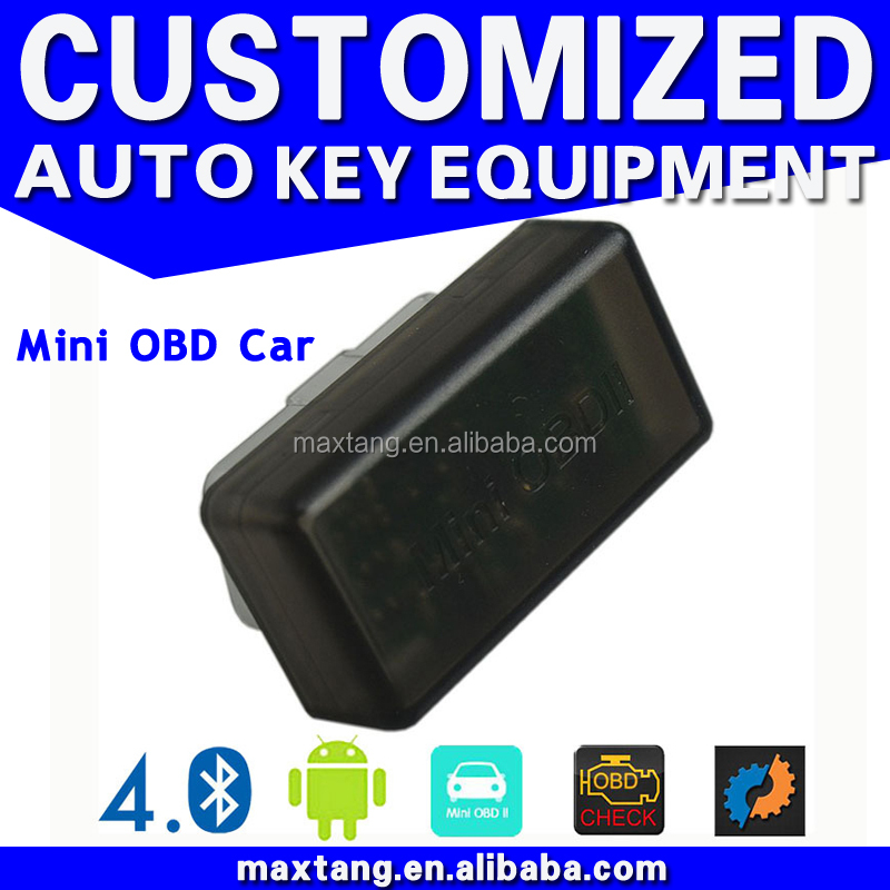 MINI OBD 4.0 OBDII Car Diagnostic Scanner ELM327 Bluetooth Vehicle Code Reader Tool Factory Supply EM031