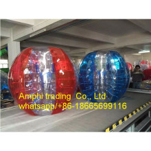 0.8mm PVC/TPU inflatable human bumper ball,bubble soccer suit,loopyball/bubble soccer