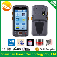 High Quality Rugged handheld 4.3 Inch IPS Display HF UHF RFID Side reserve button for Ordering system Android Mobile