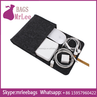 Custom Design felt storage case for phone accessories