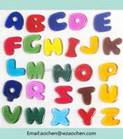 2015 New Arrival Wenzhou Alphabet Word Letter magic gel jelly sticker for kids