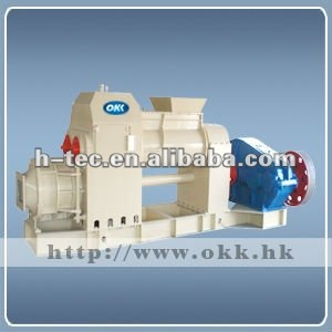 HT- cement brick making machine \ production flow chart