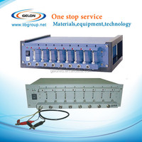 mobile phone battery testing equipment with charge /discharge for battery producing and lab research
