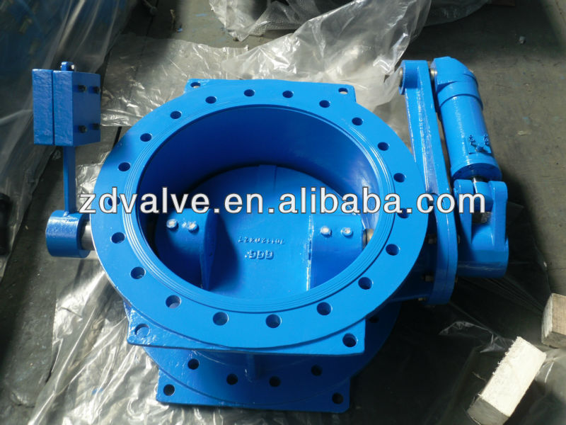 Most popular in water supply-tilting disc check valve with lever, counterweight and cylinder