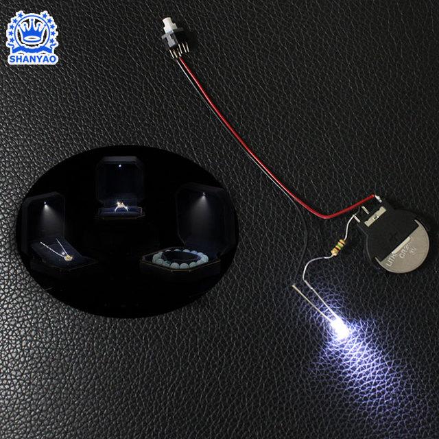 China supply SMD2835 Jewelry box LED Rigid Strip Light for jewelry box