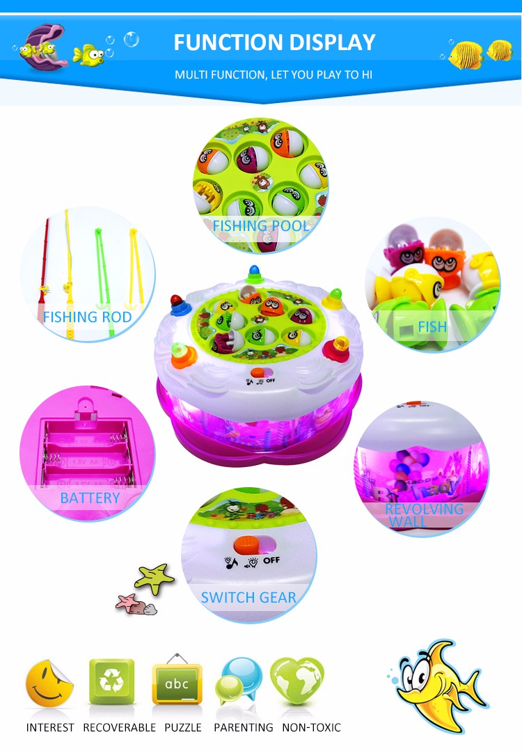 Funny ElectronicFishing Game Toys