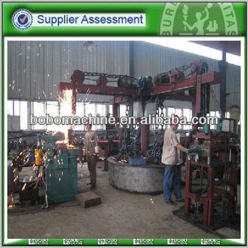 Automatic anchor chain making machine