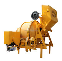 Diesel Engine Powered Reversing Concrete Mixer, Reversible Concrete Mixing Machine for Sale