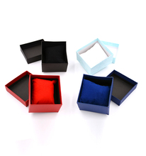 Durable Presentation Gift Box Case For Single Gift Bangle Bracelet Bangle Jewelry Wrist Watch Box Paper Cardboard Packaging Box