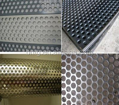 5mm thick stainless steel round hole perforated sheet