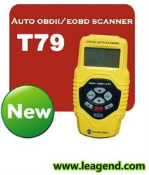 professional universal auto diagnostic scanner /can obd2 code reader T79-Multi-language ,live data graph and data print out