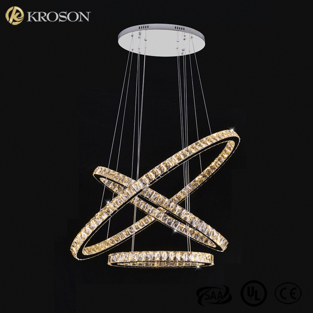 New Large Long Luxury Fixture Room Bedroom Living Room LED Pendant Interior Light Modern Ceiling Chandelier