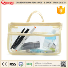 High grade foldable durable large cosmetic toiletry bags