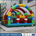 Popular CE standard PVC outdoor giant inflatable toys for rent with tent