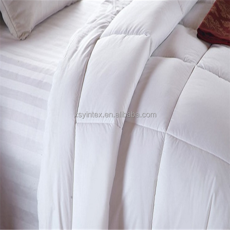 Winter Hypoallergenic Box Stitched Goose Down Duvet Cover Comforter Quilted